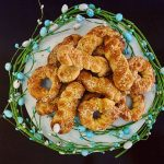 Greek cookies (koulourakia) with orange recipe