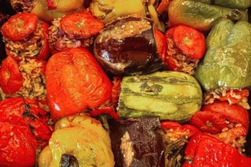 greek stuffed vegetables gemista recipe