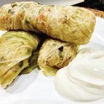 Greek cabbage rolls recipe (Lahanodolmades)