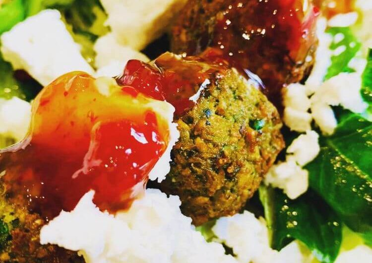 Easy falafel vegan recipe.
