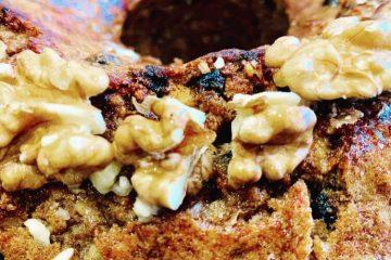 walnut and sultana cake recipe karidopita