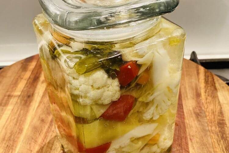 pickled vegetables recipe how to make toursi